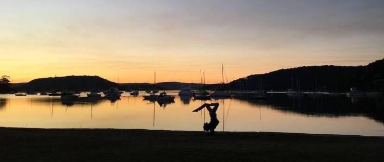 Hardys Bay Sunset Yoga_short