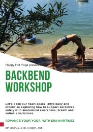 Backbend Workshop April 2019