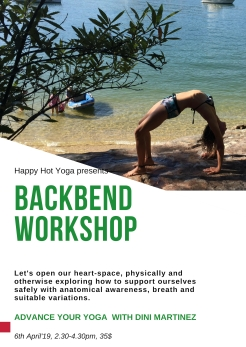 Backbend Workshop April 2019