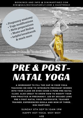 Pre and Post-Natal Yoga Workshop_Poster
