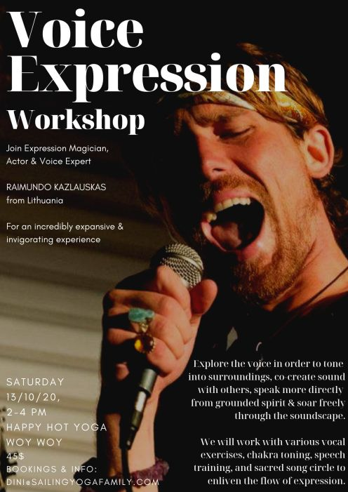 Voice Expression_Poster