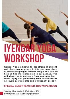 Iyengar Yoga Workshop_12Jan2020_poster